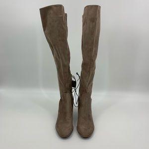 Liz Claiborne Leyla OTK Block Heel Boots
